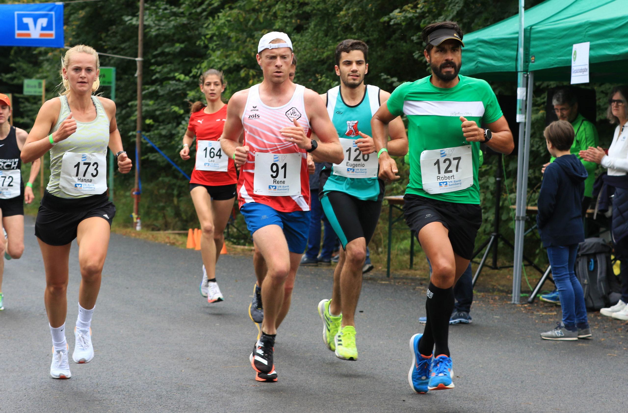 Bayerische 10 km Straßenlaufmeisterschaft 2021